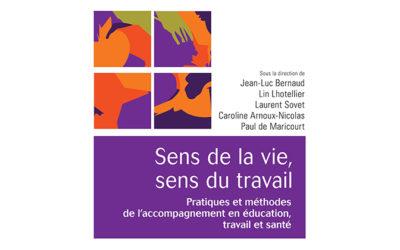 Publication de l'ouvrage «Sens de la vie, sens du travail»